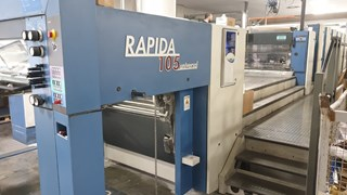 KBA RAPIDA 105 6 L PWVA ALV2 Universal (LED UV/IR/HOT) Sheet Fed