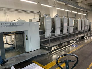 Komori GL 40 8 P Sheet Fed