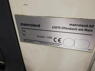 Manroland R55 5  HiPrint Sheet Fed