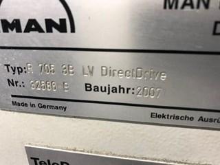 Roland R 700 5 IIIB LV Direct Drive Sheet Fed