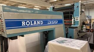 Manroland R 800 2   6 Inline Coater Anilox TGC 单张纸胶印机