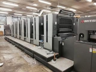 Mitsubishi V3000 LS 6  TC/ED 单张纸胶印机