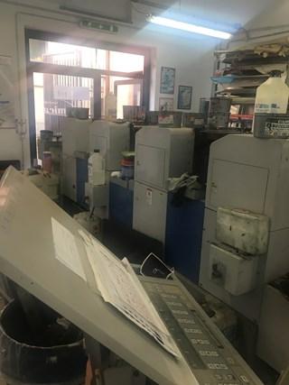 Ryobi 3300 4  HA 单张纸胶印机