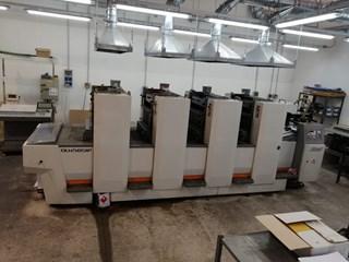 Sakurai OL458SIP 4 单张纸胶印机
