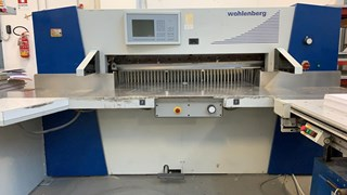 Wohlemberg 137 Guillotines/Cutters