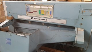Wohlemberg 155 Guillotines/Cutters
