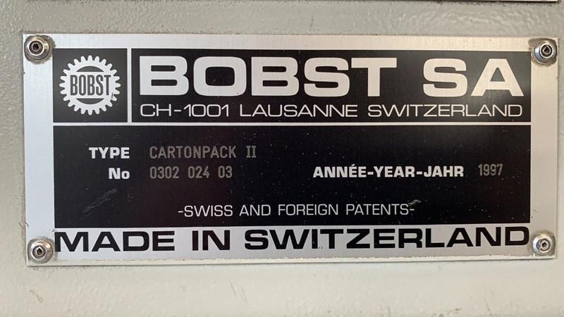Show details for Bobst CARTOPACK II