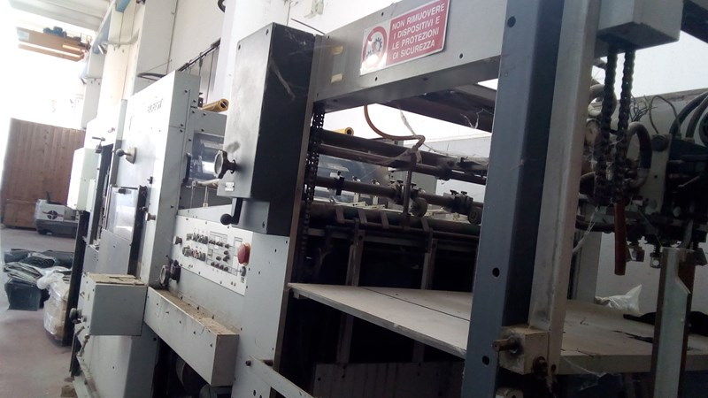 Show details for Bobst SP 102 E