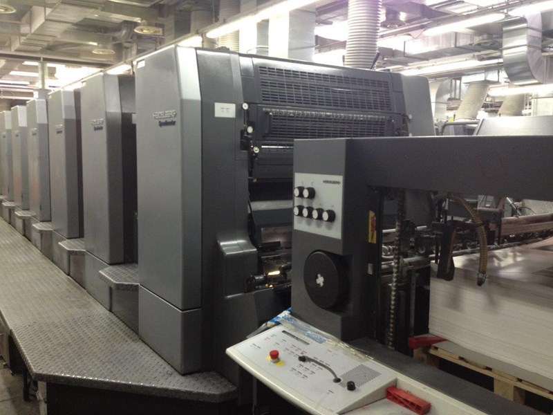 Show details for HEIDELBERG CD 102 8+LX