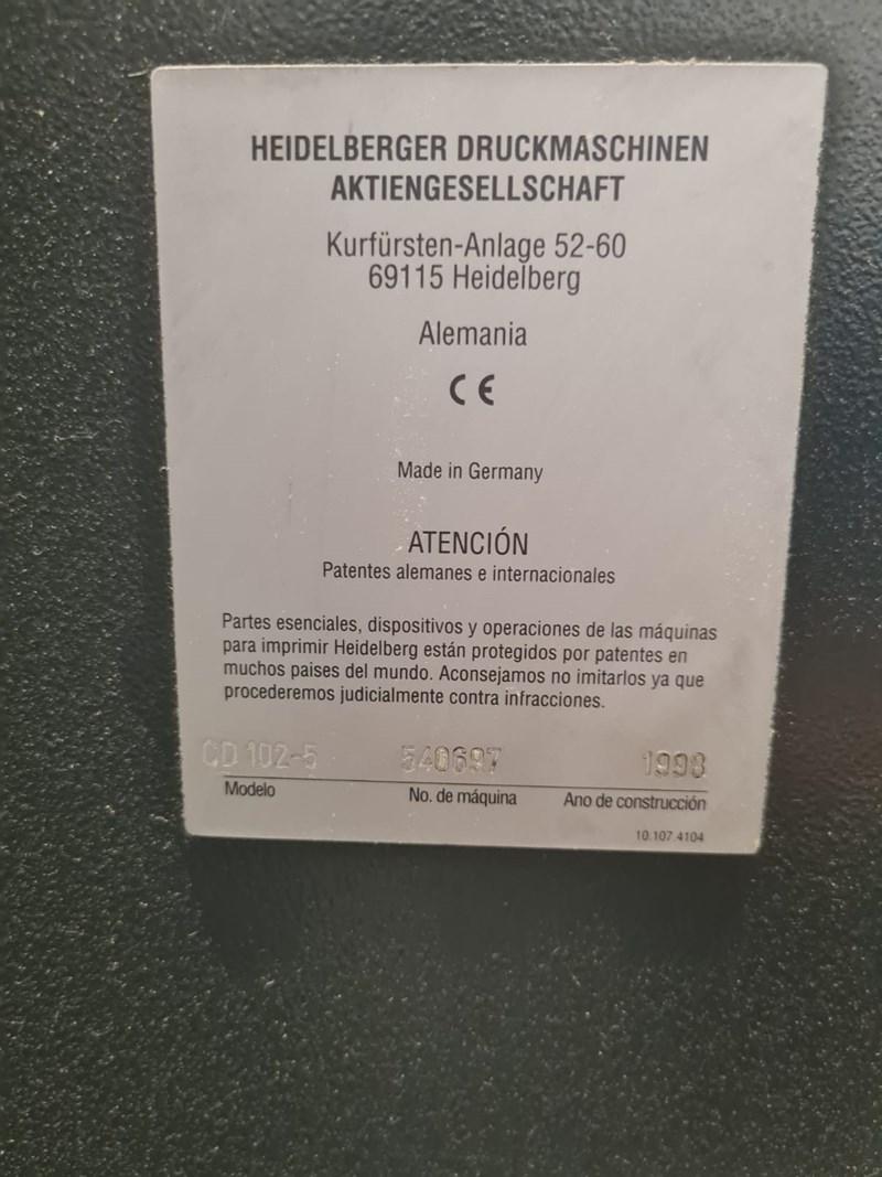 Heidelberg CD102 5
