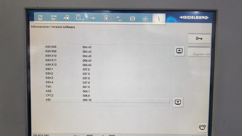 Show details for Heidelberg CD102 6 LX2