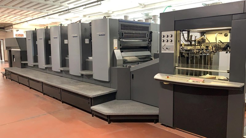 Show details for Heidelberg CD102 5