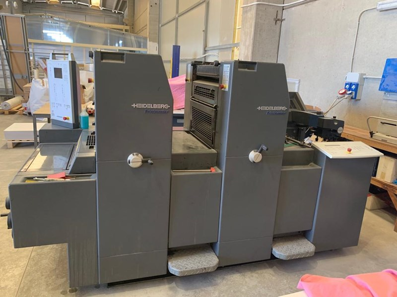 Show details for HEIDELBERG PM 52 2