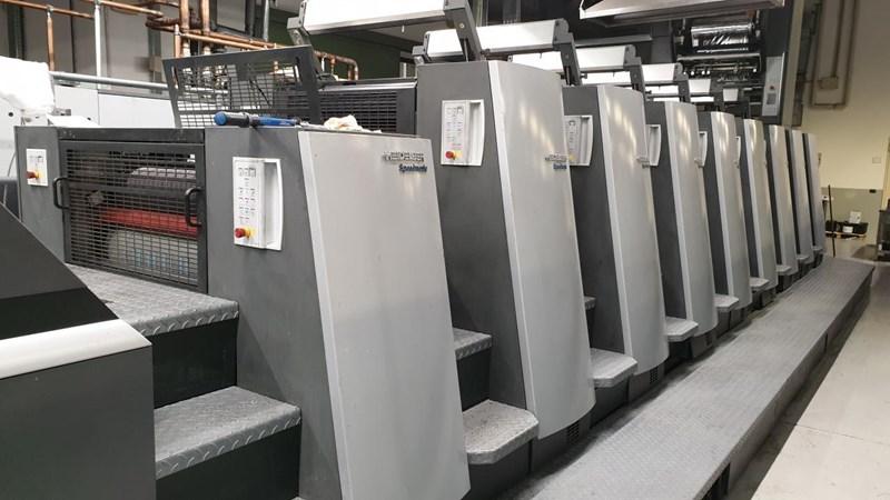 Show details for Heidelberg XL75 8  LX3 F Hybrid Foil