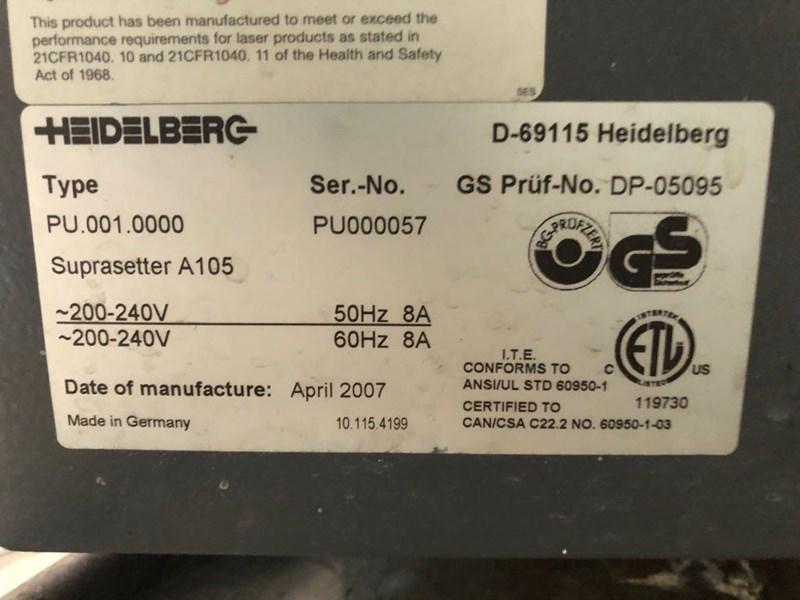 Heidelberg Suprasetter 105