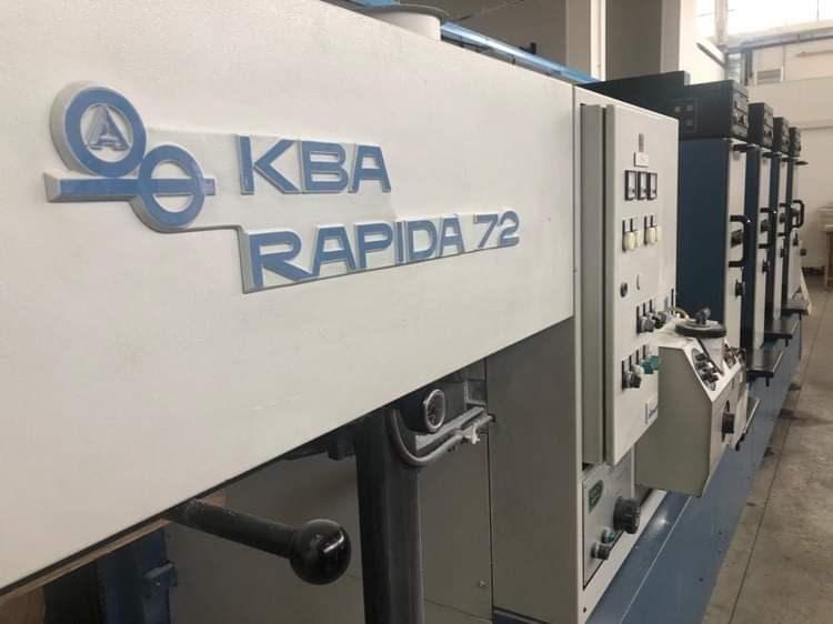 Show details for KBA RAPIDA 72 4