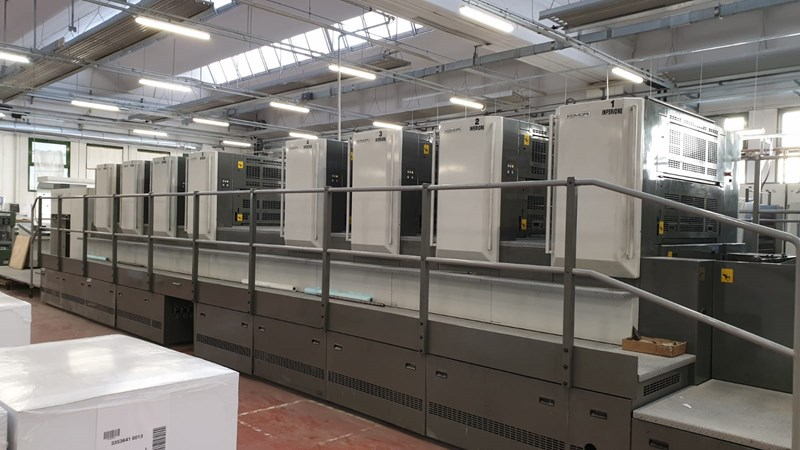 Show details for Komori LITHRONE LS 40 8 P