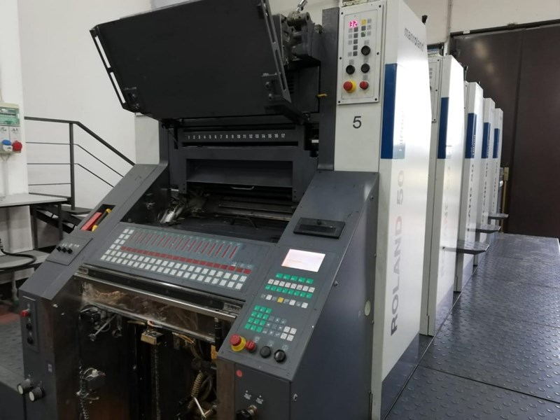 Show details for Manroland R55 5  HiPrint
