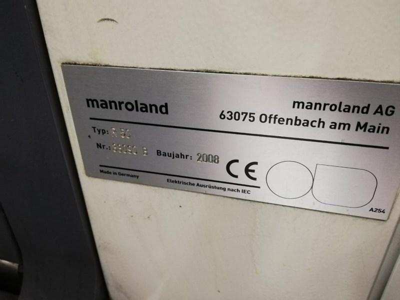 Manroland R55 5  HiPrint