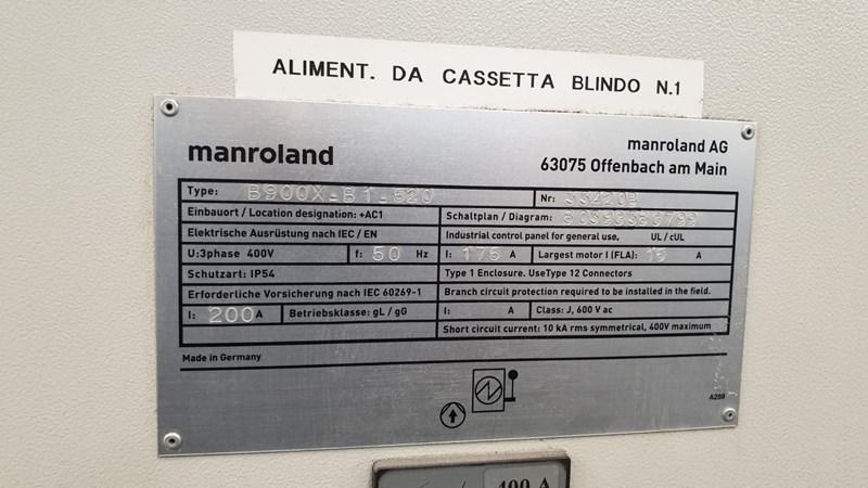 Manroland 900 XXL 8  P   HIPRINT