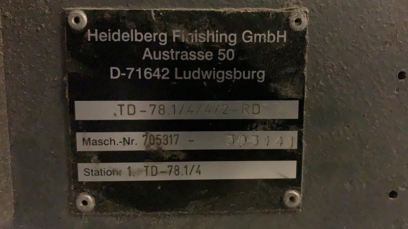 Stahl TD78   4/4/2 RD