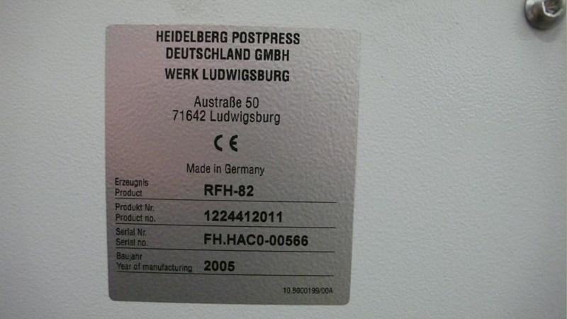 Heidelberg TH82  6/4/2 Rotary